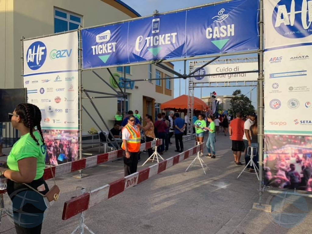 AZV a tene su prome Aruba Health Fair diasabra atardi/anochi