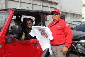 FMSA y Bo Guia FM a parti T-shirt pa fiesta di San Juan
