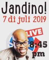Comediante Jandino Asporaat den NoticiaCla LIVE diadomingo!