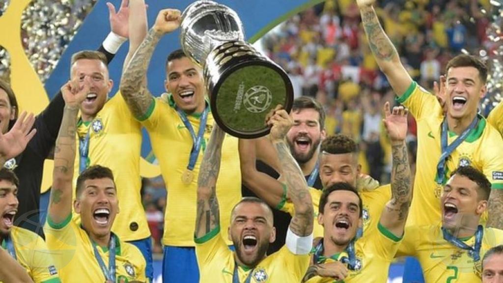 Brazil ta titula campeon Copa America pa di 9 biaha