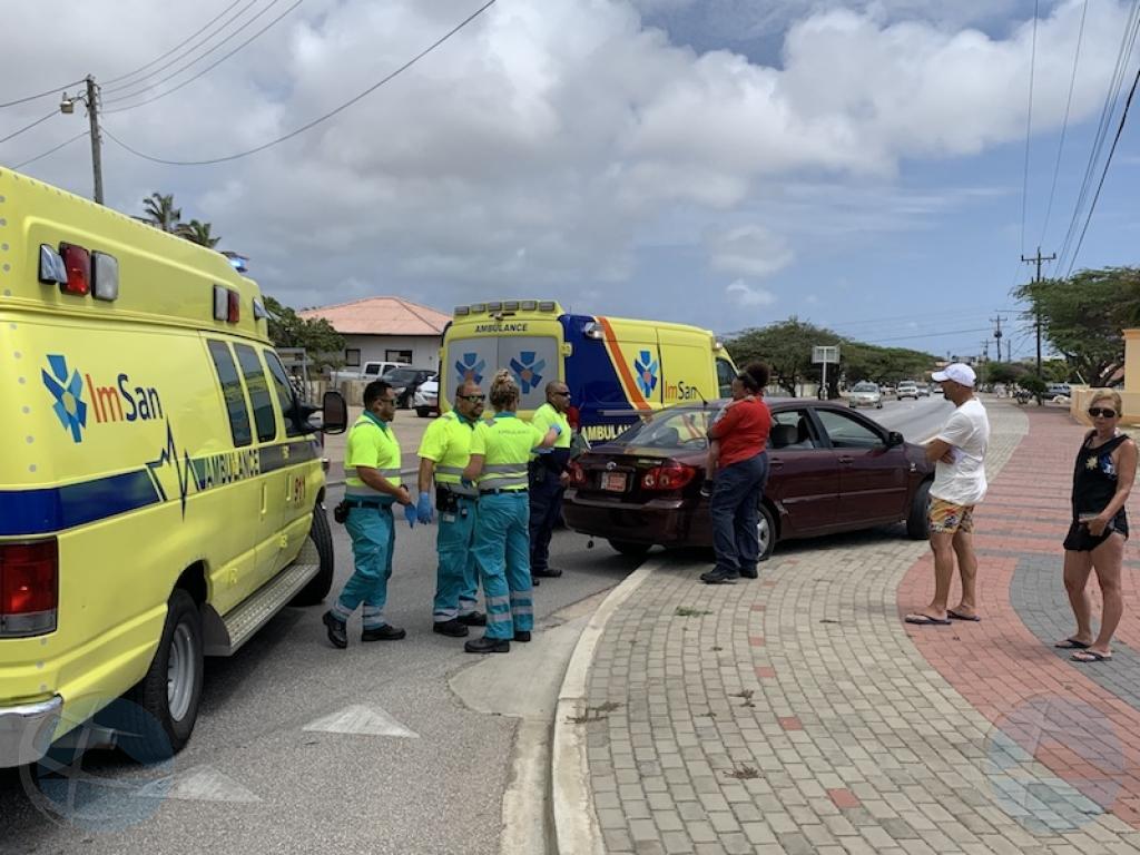 Personanan levemente herida den accidente na Paradera
