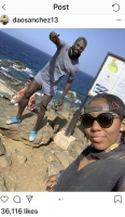 Dos futbolista professional di vacacion na Aruba despues di Copa America