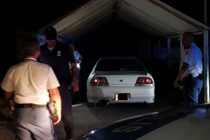 Chauffeur deteni despues di persecusion na Yucuri