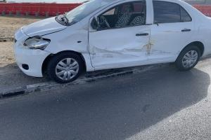 Chauffeur di Jeep safari a accidenta cu otro auto na rotonde Sasaki