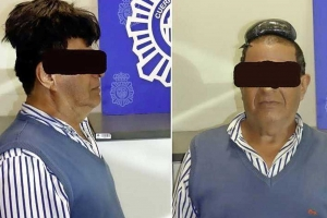 Polis a gara homber na Barcelona cu droga scondi den 'peluca'