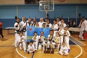 Delegacion di Tang Soo Do ta bolbe Aruba cu 36 medaya awe!