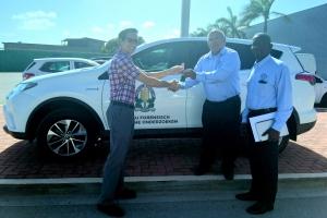 Cuerpo Policial ta sigui confia den autonan Toyota