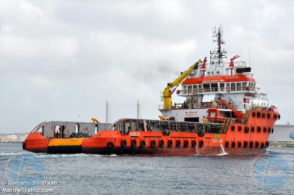 Corte a kita beslag miyonario riba remolcador Maridive 702