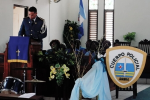 Misa pa celebra 33 aña di existencia di Cuerpo Policial di Aruba