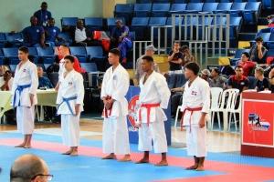 Tres medaya pa Aruba den campeonato di Caribe di Karate