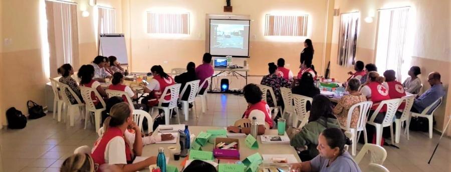 Shelter Management Training a cuminsa pa prepara pa cualkier calamidad
