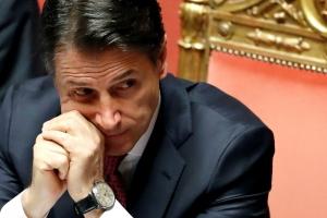 Prome Minister Italiano a entrega su retiro y baha gobierno