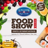 Atencion Food lovers! Ling & Sons Food Show 2019 ta na caminda