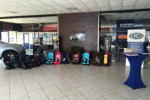 Kiwanis Club of Palm Beach cu actividad pa promove 'childseat' den trafico
