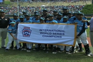 Corsou ta titula campeon internacional Little League