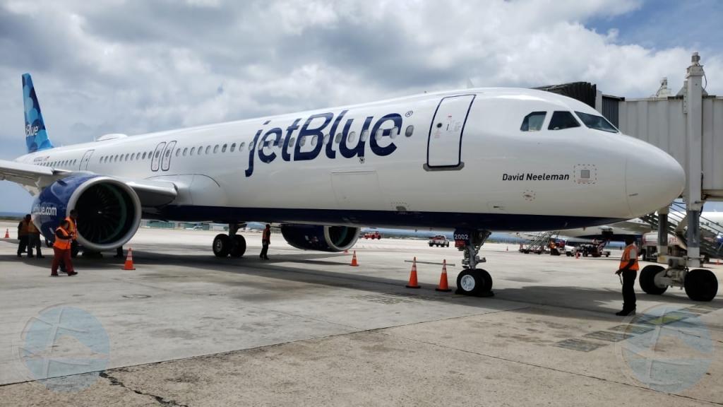 JetBlue a scoge Aruba pa 'test run' nan avion nobo A321- NEO