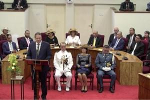 Gobernador Boekhoudt a habri aña Parlamentario awe mainta