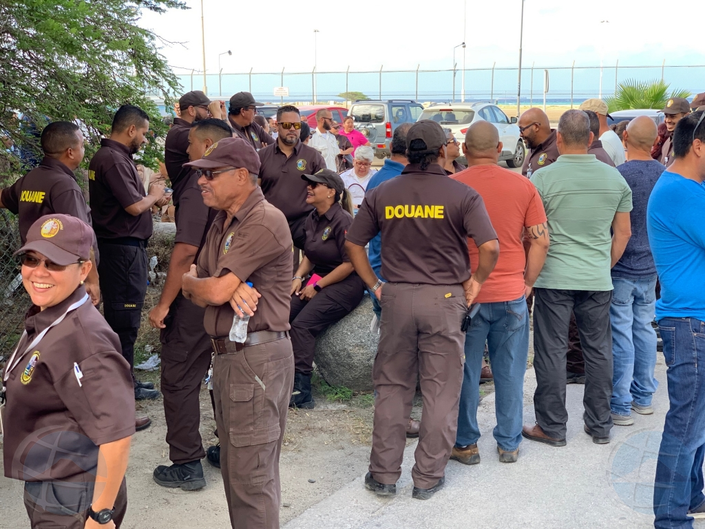 Corte: Welga di douanero por sigui te diahuebs mainta