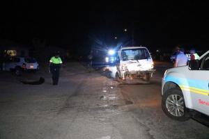 Dos auto a dal basta duro na Cadushi Largo