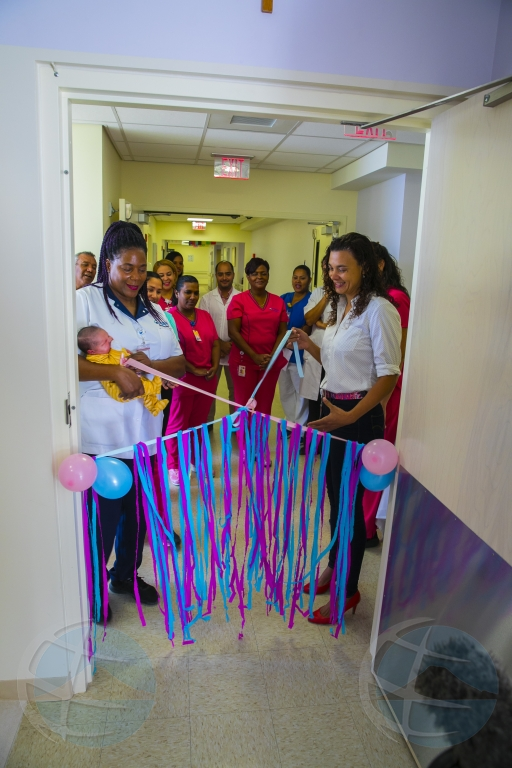 Horacio Oduber Hospital a inaugura 'Birthing pool'