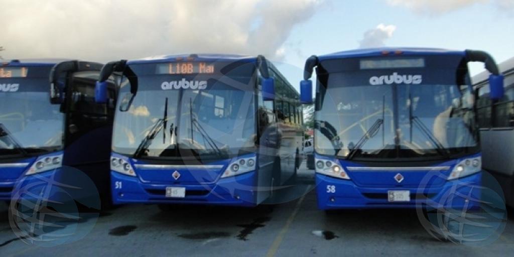 Pa motibo di reunion interno, no tin bus di Arubus diadomingo mainta