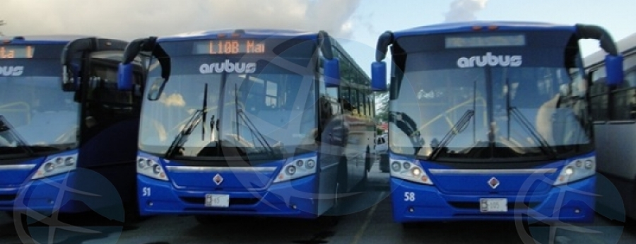 Pa motibo di reunion interno, no tin bus di Arubus diadomingo mainta