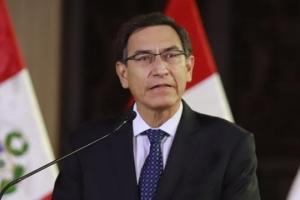 Congreso di Peru a suspende su presidente Martin Vizcarra