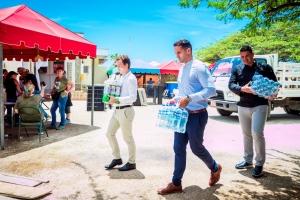Riu Palace Antillas a ofrece lunch na fundacionnan di bestia