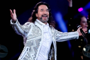 Falta un luna pa concierto di Marco Antonio Solis na Aruba