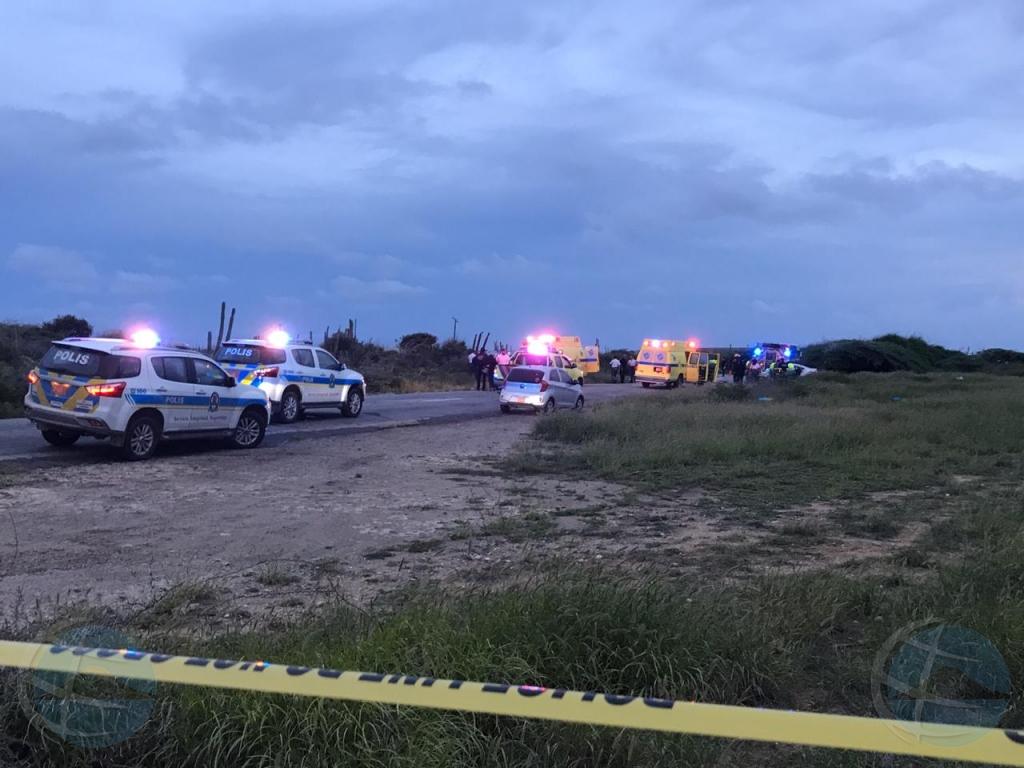 Accidente di trafico na entrada di Colony a bira uno fatal