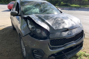 Dos auto a accidenta na crusada Caya Musica