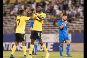 Seleccion nacional di futbol di Aruba ta perde 6-0 di Jamaica na Corsou