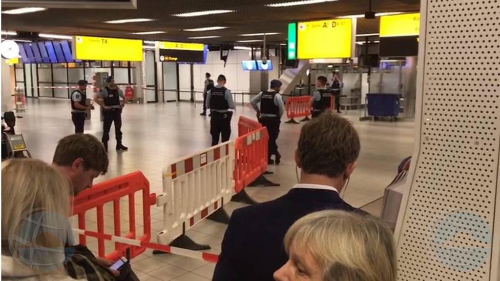 Posibel secuestro di avion tumando lugar na Schiphol na Hulanda