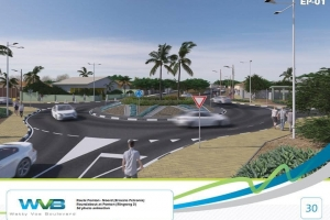 Oduber: Grupo encarga pa embeyecimento riba Watty Vos Boulevard