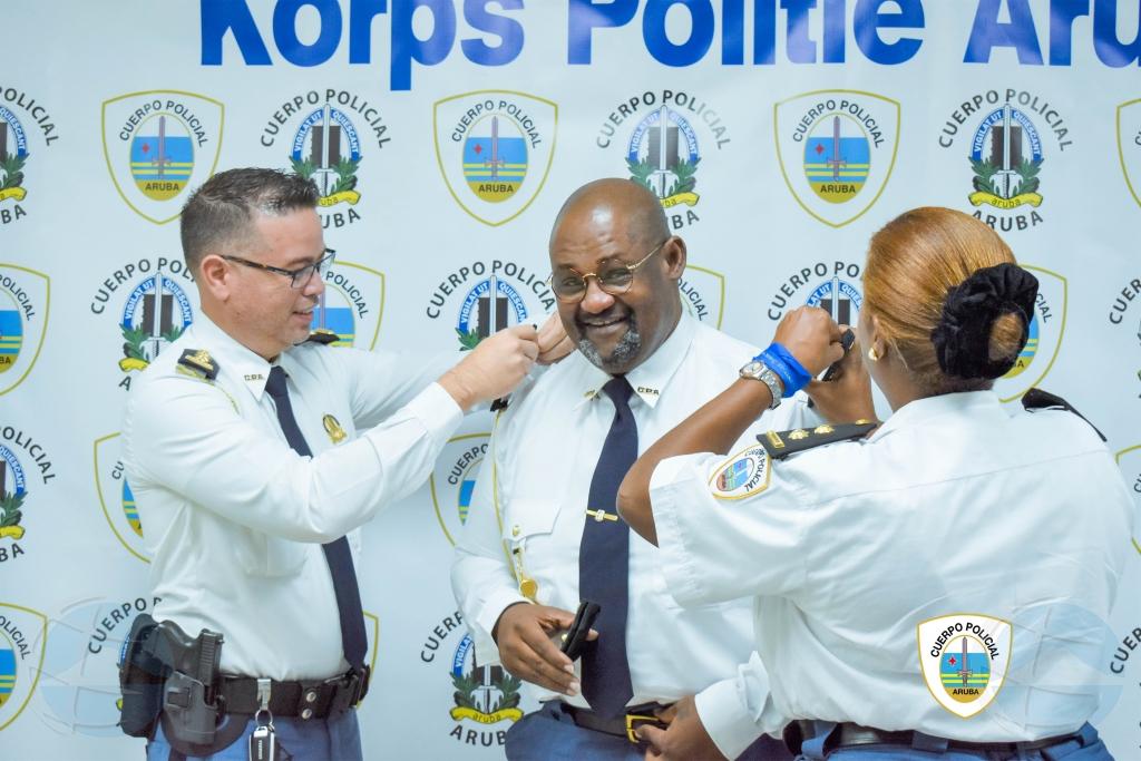 KPA: Diferente agente policial a ricibi nan promocion