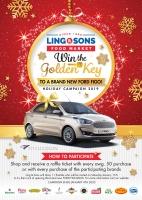 Gana e yabi di oro! Gana un Ford Figo nobo nobo cu Ling & Sons Food Market!