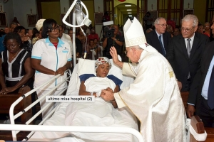 Cu Santo Sacrificio a cera e capitulo di hospital SEHOS na Corsou