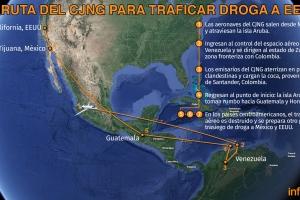 Raportahe: Cartel Mexicano ta usa Aruba pa trafica cocaina pa Merca