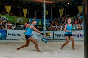 Aruba ta jega final pa prome biaha den Nations Cup Beach Tennis