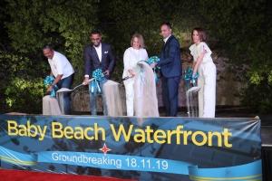 Oduber: Baby Beach Waterfront ta prepara San Nicolas pa mas desaroyo turistico