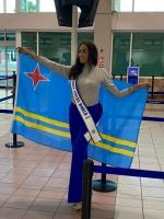 Representante di Aruba pa Miss World a yega London pa e certamen