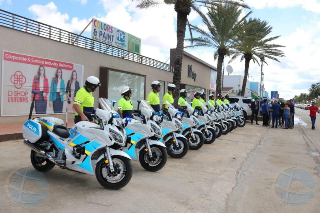 Cuerpo Policial diabierna a haya 10 motorcycle nobo