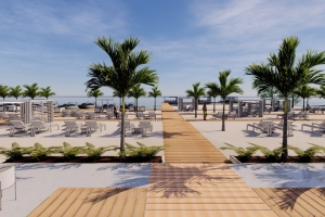 Hulandes kier importa santo di Aruba pa traha hotel cu beach na Hulanda
