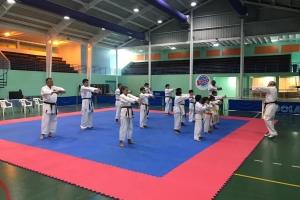 ASU Olimpiada 2019  exitoso cu seminario di Aruba Karate Bond