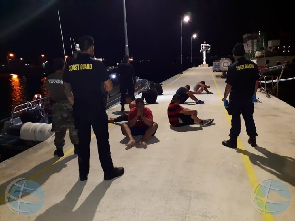 Warda Costa a intercepta boto cu 35 Venezolano  yegando Aruba