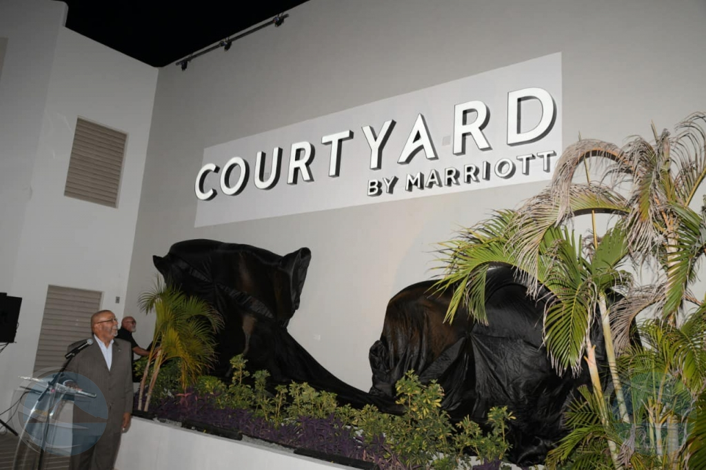 Courtyard by Marriott Resort Aruba a habri su portanan dialuna
