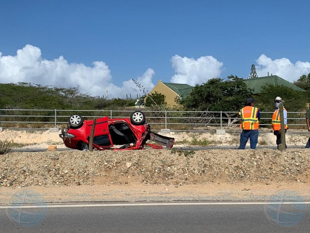 Victimanan di accidente di trafico na Ser'i Teishi ta den estado grave