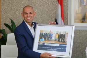 Otmar Oduber a atende su ultimo reunion di CDM como minister