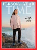 Greta Thunberg a bira persona di aña 2019 pa Time Magazine
