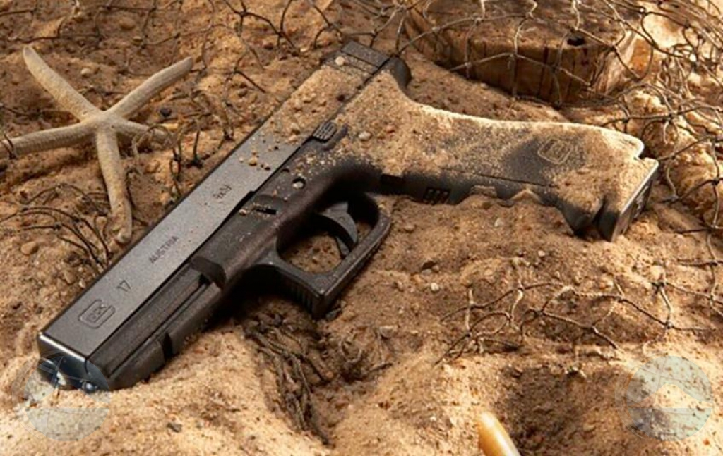 Polis a haya e arma di e atraco na Ritz Carlton Hotel
